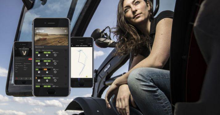 Valtra a présenté à l'Agritechnica son service de télémétrie : le Valtra Connect.