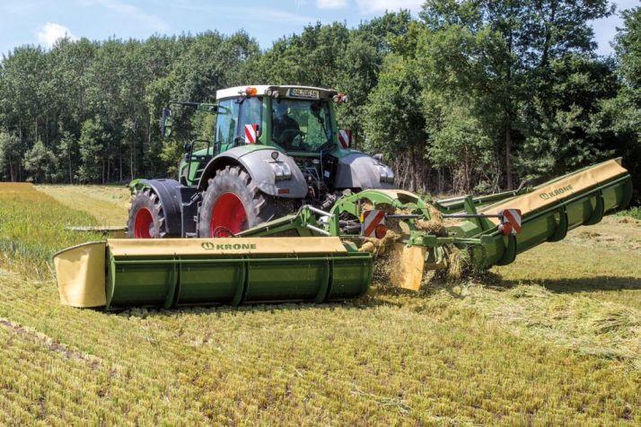 La nouvelle EasyCut B 950 Collect de Krone a été présentée à l'Agritechnica.