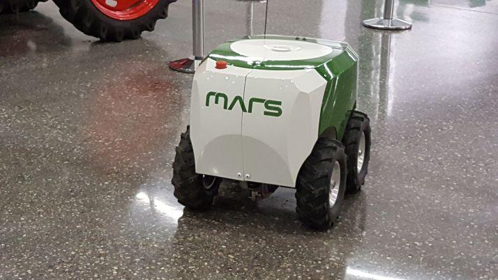 Jean Pignon a été le premier a investir dans le robot Mars de Fendt. Crédit photo: S.Billaud/Pixel Image