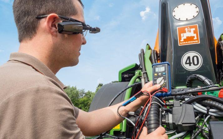 Amazone teste la réalité virtuelle et la réalité augmentée pour améliorer la maintenance.