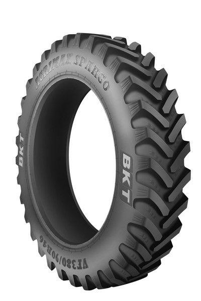 Des pneus spécialement conçus pour la pulvé chez BKT. Photo: BKT
