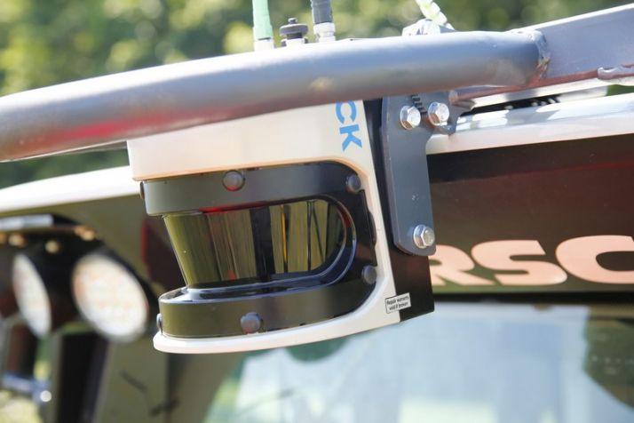 Le Boomsight Control anticipe les collisions chez Horsch. Photo: Horsch