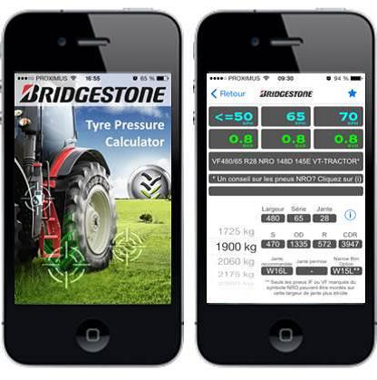 bridgestone lance à son tour une application mobile. Photo: Bridgestone