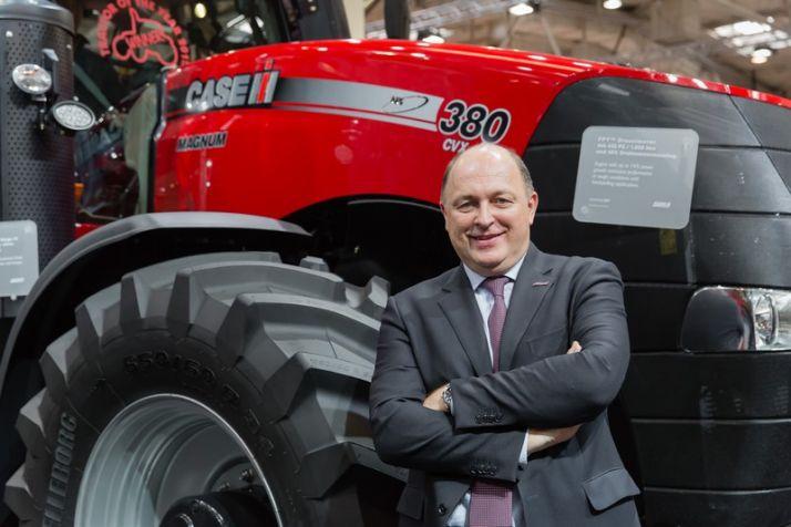 Andres Klauser, PDG de Case IH Agriculture. Crédit photo: Case IH