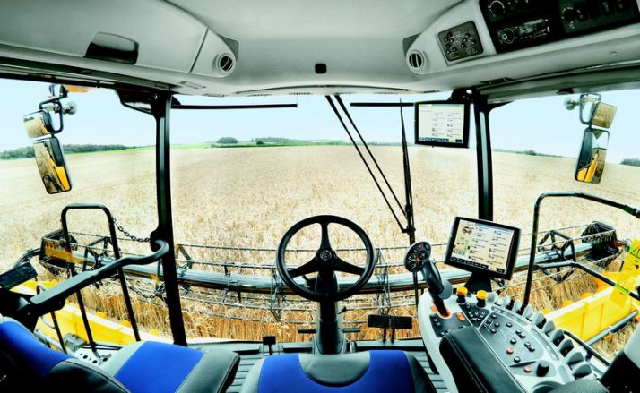 Les New-Holland CR gagnent en puissance. © New Holland
