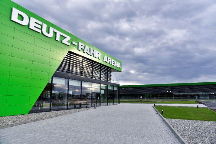 Une nouvelle usine pour Deutz-Fahr. © Deutz-Fahr
