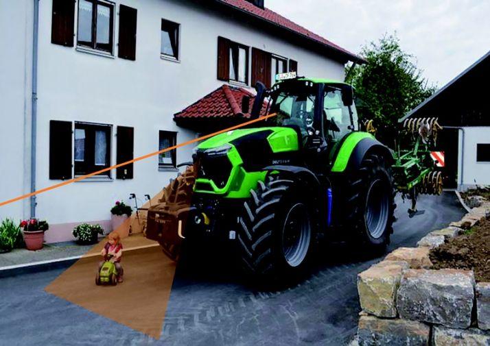Deutz-Fahr sécurise la conduite des tracteurs de forte puissance. Photo: Deutz-Fahr