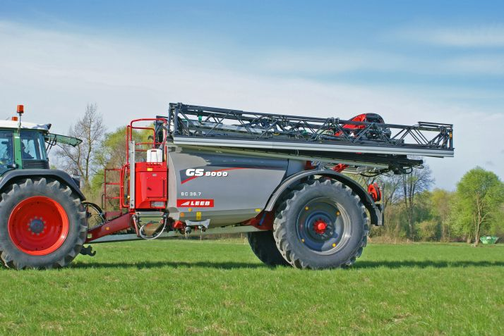 Le GS 8000 reçoit une cuve en acier inoxydable de 8000 litres.