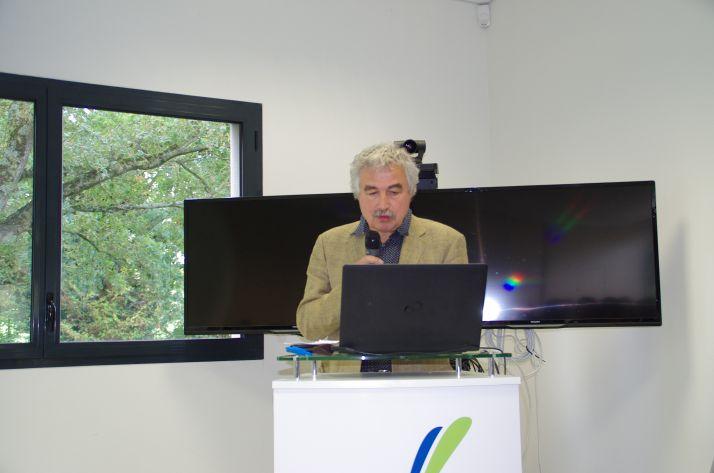 Le directeur de recherche de l'Inra, Jean-Marc Meynard,  a exposé les raisons d'une utiliaiton trop faible des solutions alternatives aux phytos.