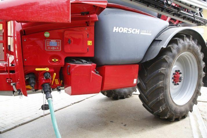 Horsch étoffe sa gamme avec le Leeb LT. Photo: Horsch