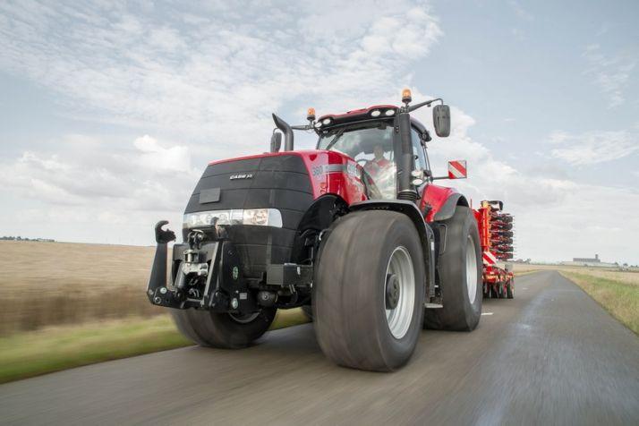 Le Case IH Magnum 380 CVX a été élu tracteur de l'année 2015. Photo : Case IH