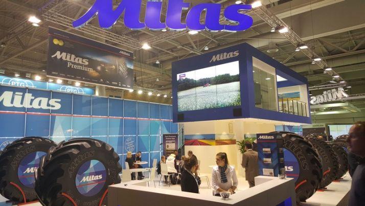 Trelleborg annonce le rachat de CGS (Mitas). Photo: S.Billaud/Pixel Image