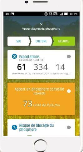 Timac agro lance Phosph'Or, une application entièrement dédiée à la fertilisation en phosphore.