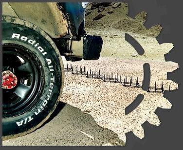 Bientôt des pneus increvables ? Photo: XTRM Systems