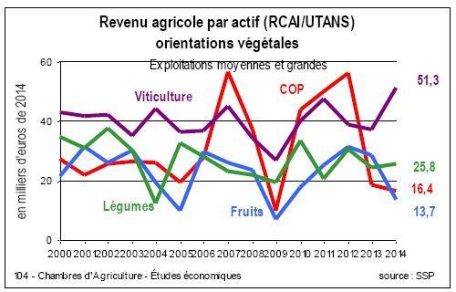 Revenus agricoles baisse des indicateurs en grandes - Assemblee permanente des chambres d agriculture ...