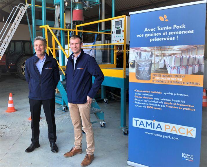 La société Tamia Pack propose un procédé de traitement sous vide pour conserver les semences et les graines alimentaires.