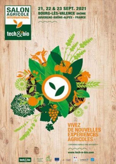 Le salon tech and bio 2021 se tiendra du 21 au 23 septembre à Bourg-lès-Valence