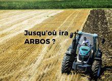 L'Arbos 5000 au labour. © Arbos