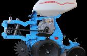 Un nouveau contrôleur de semis et une nouvelle distribution chez Monosem. Crédit photo : Monosem