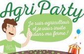La première Agri Party aura lieu le 30 septembre, en Vendée, chez un producteur de salades.