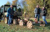 De gauche à droite : Maxime Bujon et Lionel Machet, agriculteurs, accompagnés sur Fertilio e-RM par Éva Béjaud, référent expert services chez Terrena. Photo O.Lévêque/Pixel Image