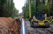 1/3 des approvisionnements de l'Europe en gaz naturel provient de la Russie.