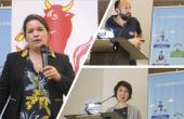 Maxime Barbier, Yolaine Pagès, Stéphanie Chanfreau