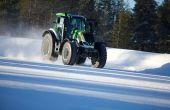 Un tracteur flashé à plus de 130 kmh en Laponie !